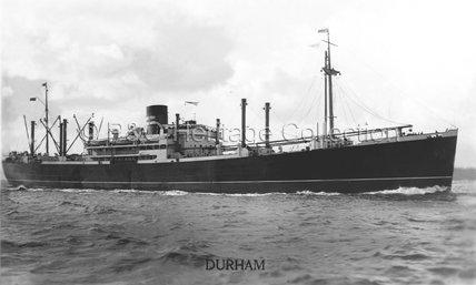 DURHAM near land