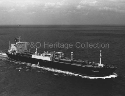 GALCONDA at sea