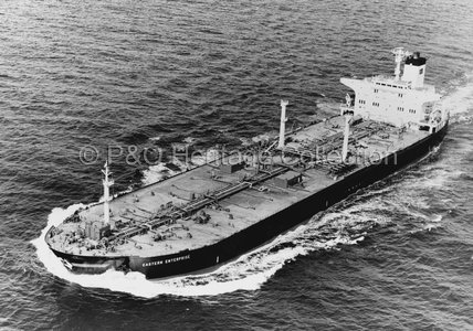 EASTERN ENTERPRISE at sea