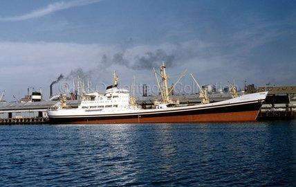 BAMORA in port
