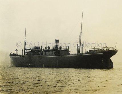 DURENDA at anchor