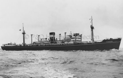 CHINDWARA at sea