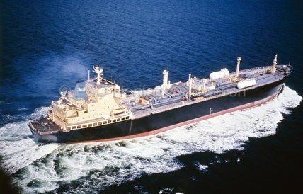 GARMULA at sea