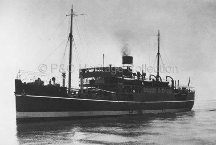 DUMRA at sea