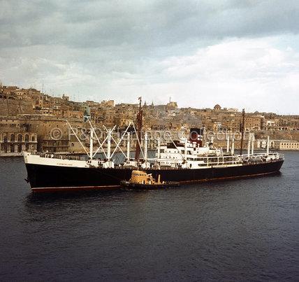 CUMBERLAND at Valetta, Malta