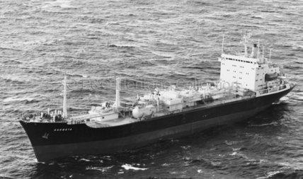 GARBETA at sea