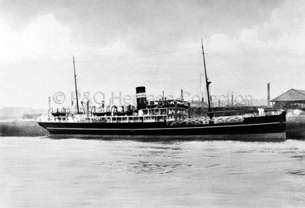 BAMORA in dock