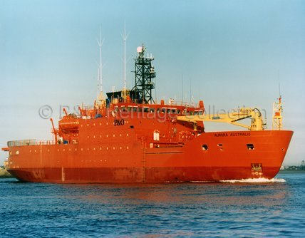 AURORA AUSTRALIS in harbour