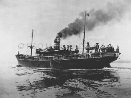 CHANTALA at sea