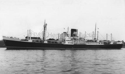 ESSEX in harbour