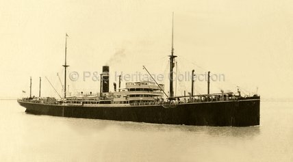 AUSTRALIA arriving at Suez Canal