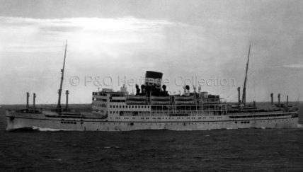 ARONDA at sea