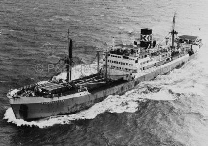 KARAGHISTAN at sea