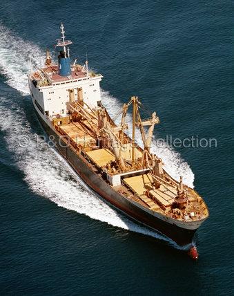 MERKARA at sea