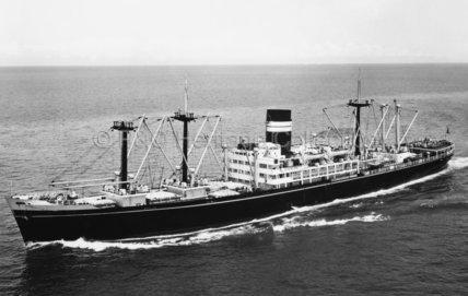 NARDANA at sea