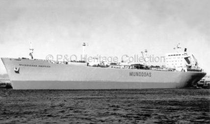 MUNDOGAS AMERICA in port