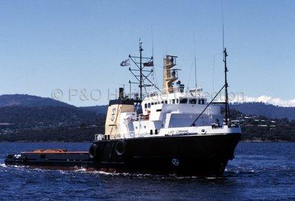 LADY LORRAINE at sea