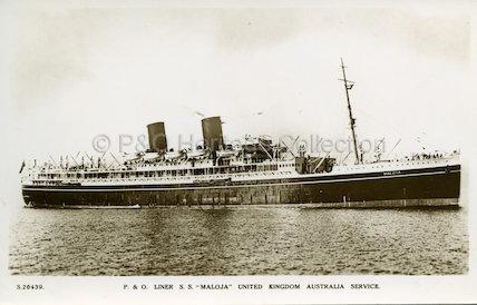 MALOJA at sea