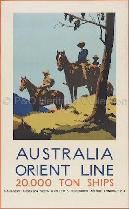 Australia - Orient Line - 20,000 ton ships