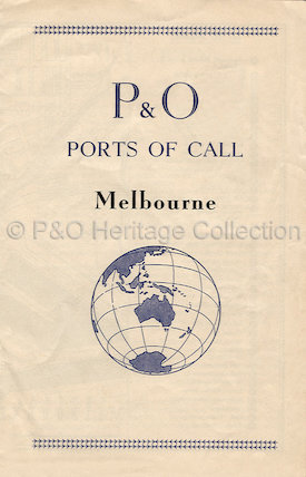 P&O Ports of Call - Melbourne