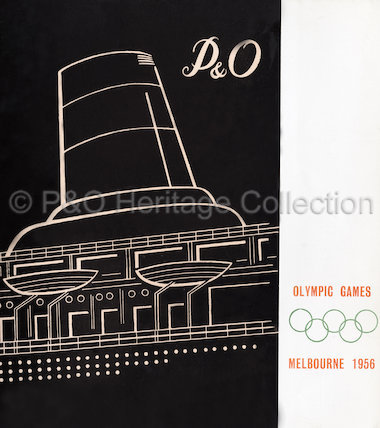 P&O brochure for the Olympic Games in Melbourne