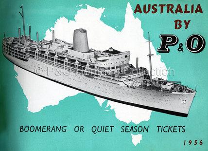 Australia by P&O' brochure