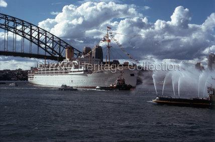 HIMALAYA arriving in Sydney