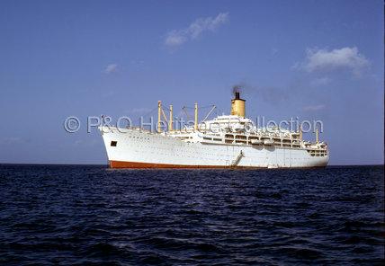 ORSOVA at anchor