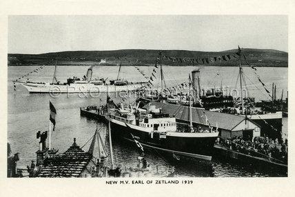 EARL OF ZETLAND in port