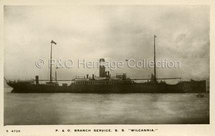 WILCANNIA in port