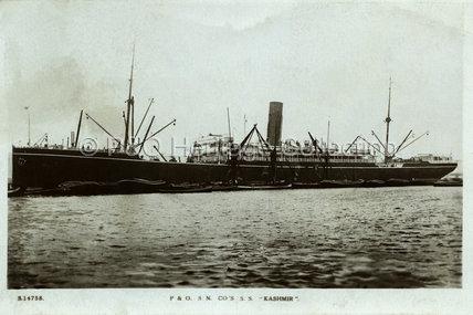 KASHMIR in port