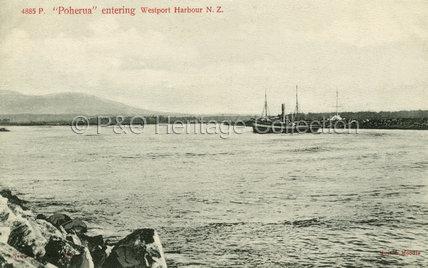 POHERUA in Westport Harbour