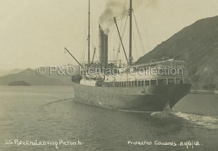 PATEENA leaving Picton