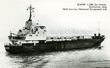ELAND at sea