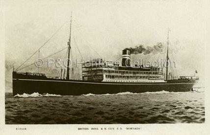 MORVADA at sea