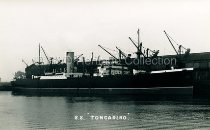 TONGARIRO in dock