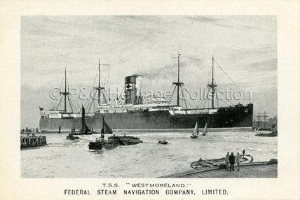 WESTMORELAND in port