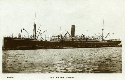 KASHGAR in port