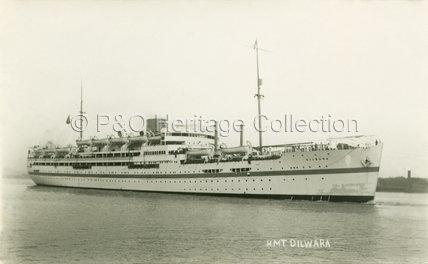 DILWARA as a troopship