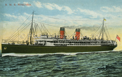 NIAGARA at sea