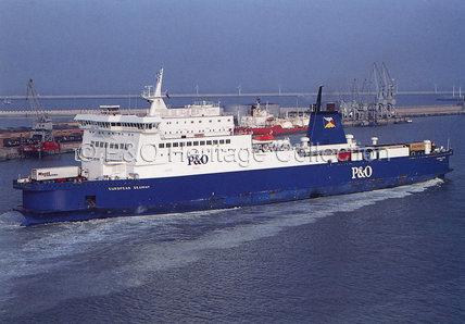 EUROPEAN SEAWAY at Zeebrugge