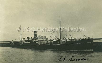 SURADA in dock