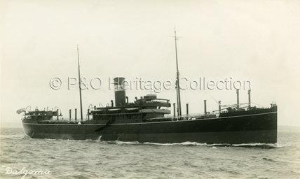 DALGOMA on sea trials