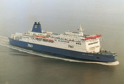 PRIDE OF BURGUNDY at sea