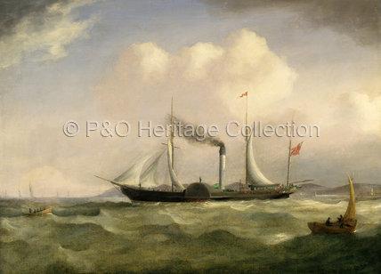 TAGUS at sea