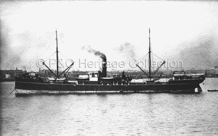 VIRAWA in harbour