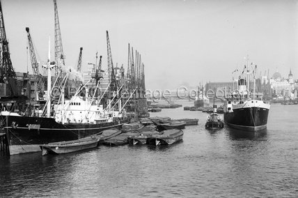 ALBATROSS in London dock