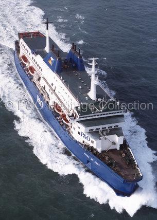 PRIDE OF KENT at sea