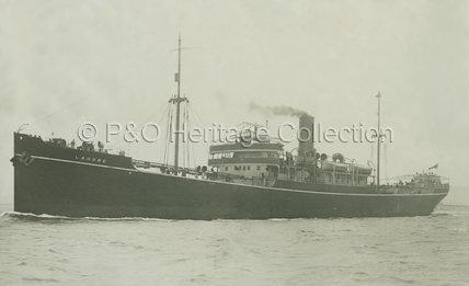 LAHORE at sea