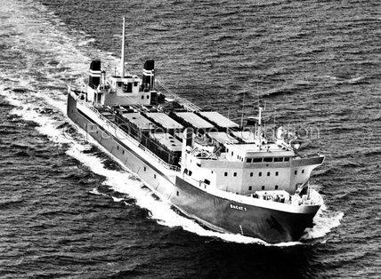 BACAT I at sea